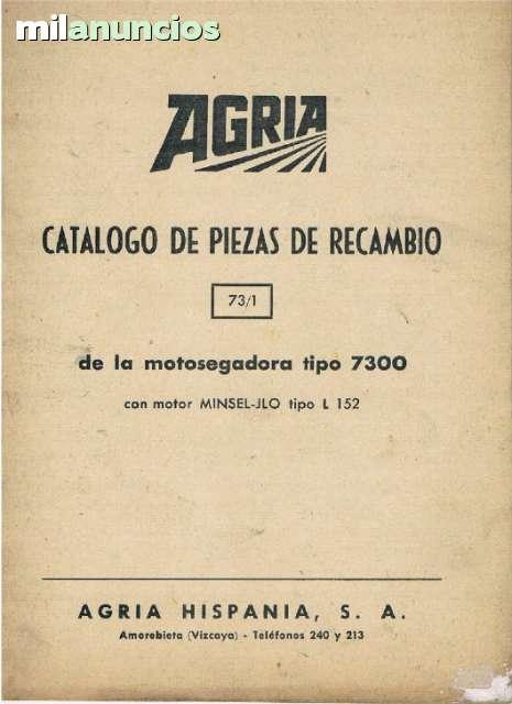 MOTOSEGADORA 7300 - AGRIA