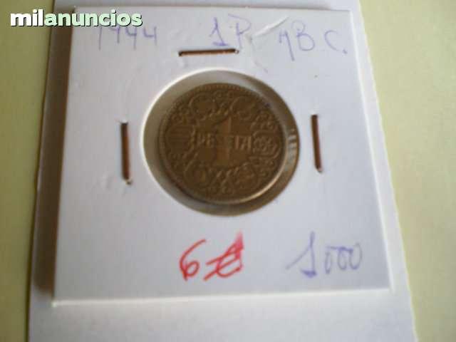 Monedas De Franco**1 Pta Del 44**