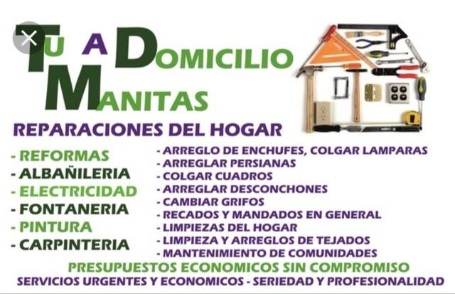 MANITAS REPARACIONES DEL HOGAR - foto 1