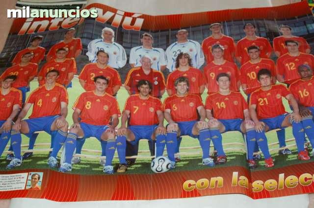Poster Seleccion Española 2006