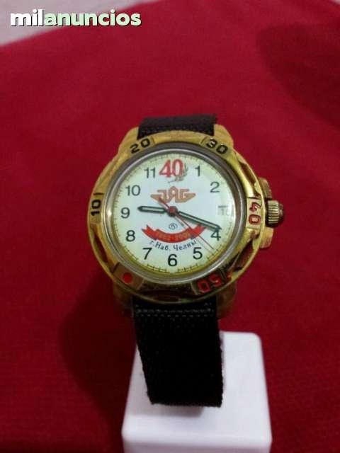 Cccp De Soviético Cuerda Reloj Vostok 4Rj5AL