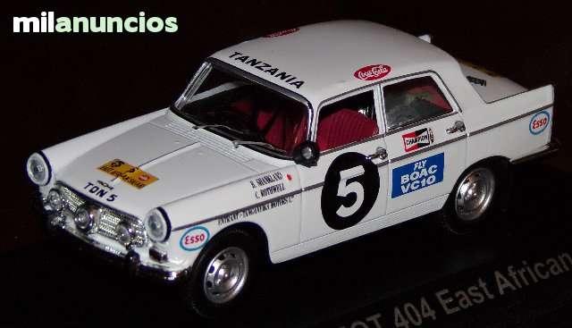 Peugeot 404 Rallye East African B.Shankl