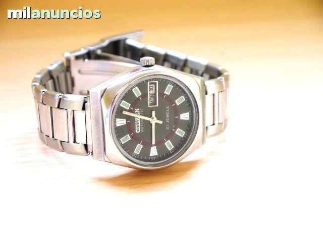 relojes citizen automaticos de hombre años 80