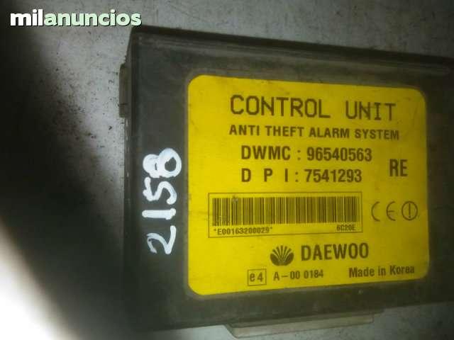 96540563 MODULO INMOVILIZADOR CHEVROLET