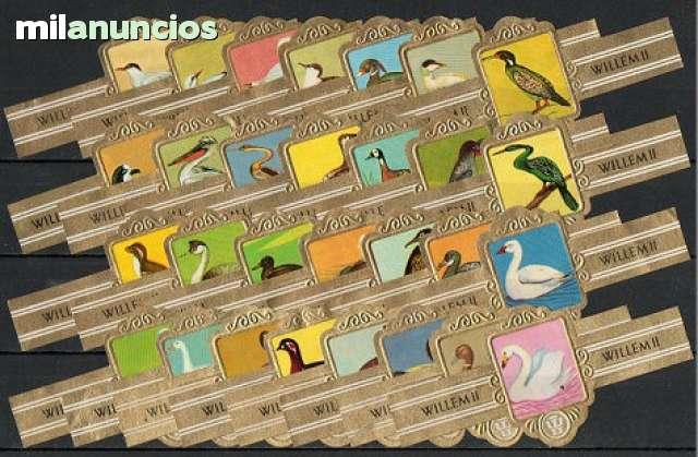 Serie De Vitolas Completa. Aves (Xi)