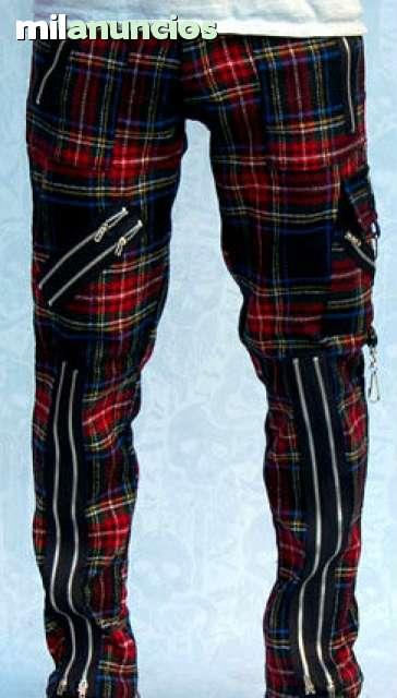 مراهقون موقع حضارة Pantalones Escoceses Punk Caallenblog Com