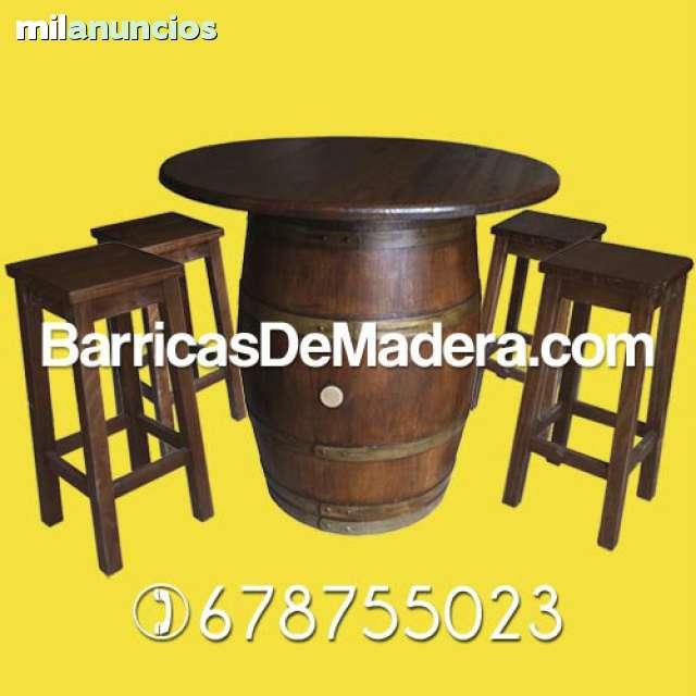 BARRICAS DECORACION TONELES BARRILES