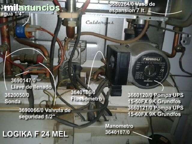 FERROLI LOGIKA F 24 MEL REPUESTOS