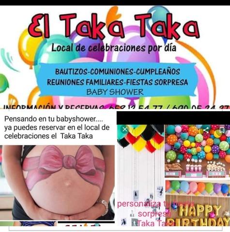 REUNIONES?. . .  BABYSHOWER?. . . . EN EL TAKA - foto 3