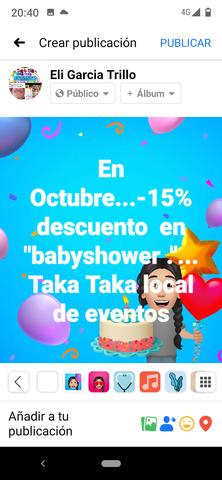 REUNIONES?. . .  BABYSHOWER?. . . . EN EL TAKA - foto 4