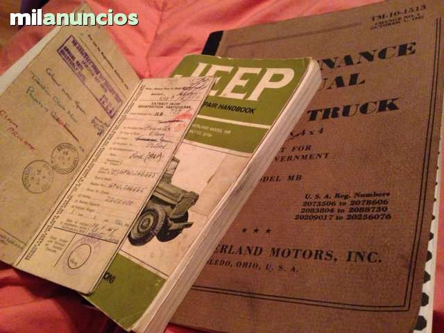 JEEP WILLY S FORD - GPW 1945 WILLY S VENDIDO !! - foto 7