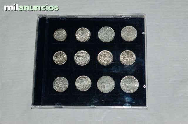 Coleccion En Plata 12 Monedas