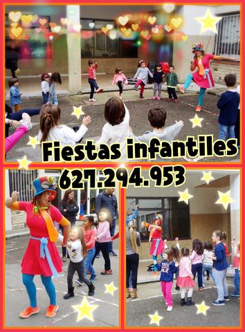 FIESTAS INFANTILES, PALLASSO, ANIMACIO