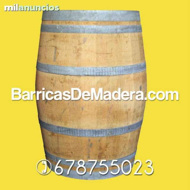 BARRICAS TABURETES BARRILES BANQUETAS