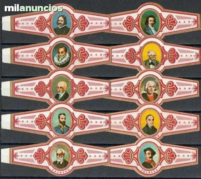Serie Clásica Completa. Personajes.