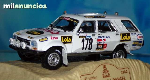 Peugeot 504 Dangel Rallye Paris Dakar 19