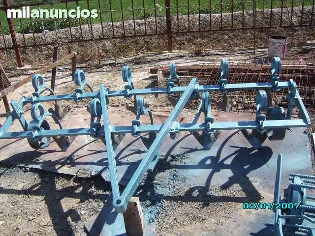 CULTIVADOR DE MUELLES 11 BRAZOS
