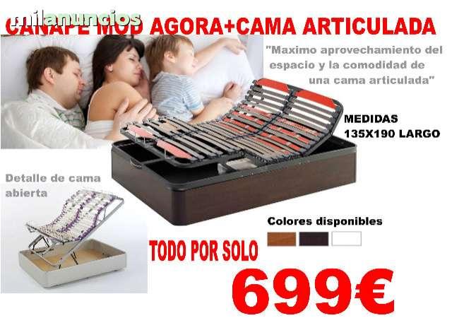 CANAPE AGORA CAMA ARTICULADA ELECTRICA