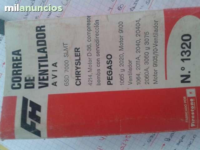 LOTE DE 350 CORREAS PARA CLASICOS