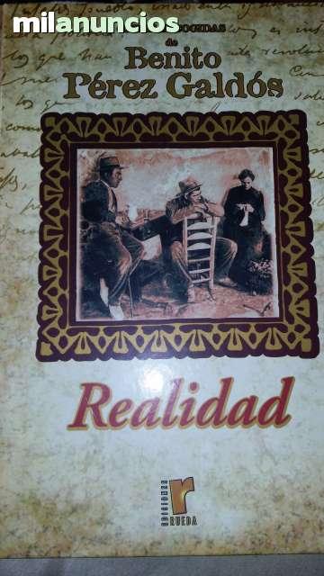 REALIDAD.  BENITO PÉREZ GALDOS - foto 1