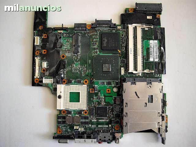 PLACA BASE IBM T60 CORE DÚO, CON PASSWORD - foto 1