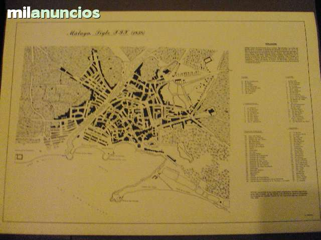 Litografias Antiguas Puerto De Malaga