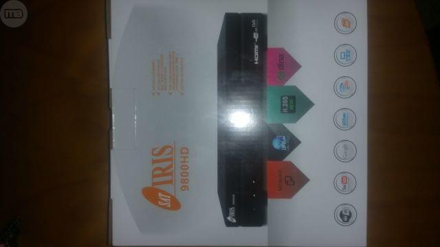 IRIS 9800 HD CON VIDEOCLUB SAT