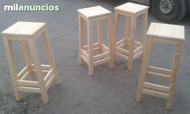 SE VENDEN MESAS Y TABURETES - foto 1