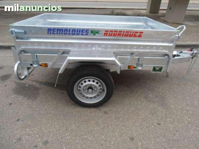 REMOLQUE CARGA-MOTO HOMOLOGADO - foto 2