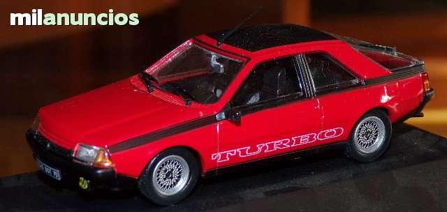 Renault Fuego Turbo Escala 1:43 Altaya E