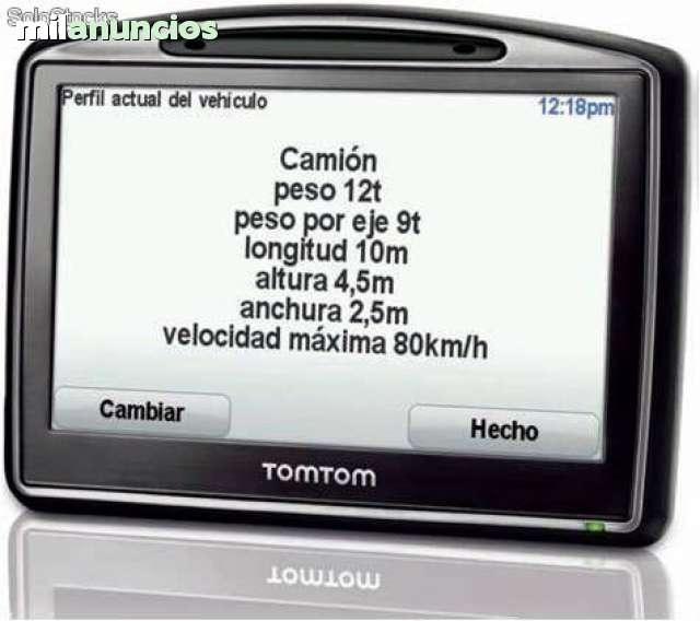 GPS PROFESIONAL TOMTOM TRUCK CAMION