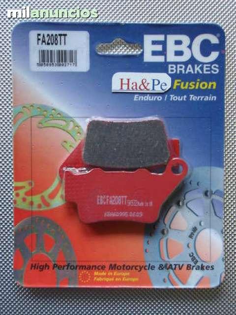 Pastillas de Freno compatible con Arctic Cat Honda Kawasaki Suzuki Yamaha EBC FA084TT