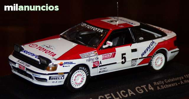 Toyota Celica Gt4 Rallye Catalunya 1991