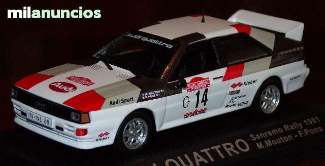 Audi Quattro Rallye Sanremo 1981 M. Mout