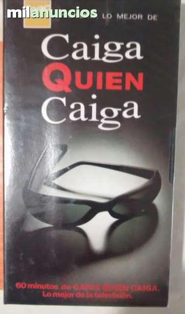 VÍDEO CAIGA QUIEN CAIGA EN VHS