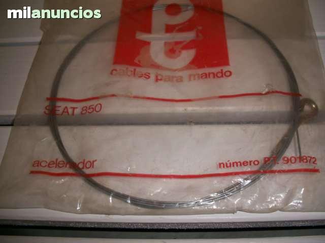 CABLE ACELERADOR  CON FUNDA  SEAT 850