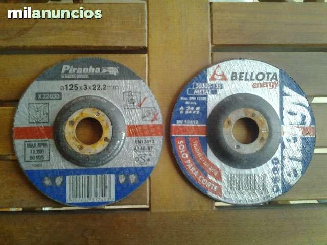 Discos Corte Metal Radial 125