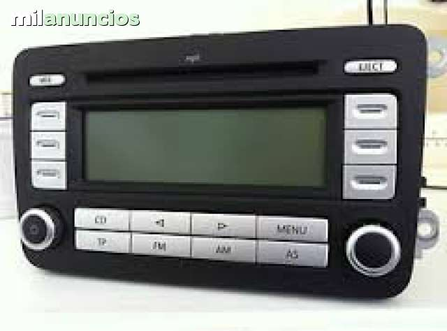VW RADIO CD RCD300MP3