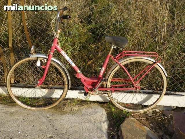 Vendo Bicleta Bh Años 70