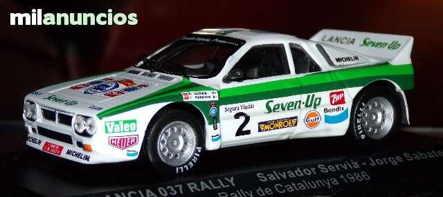 Lancia Rally 037  Rallye Catalunya 1986