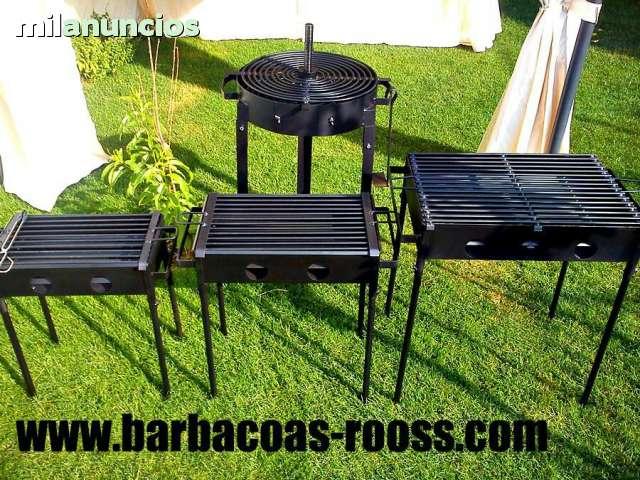 BARBACOAS Y PLANCHAS ROOSS. 30EUROS