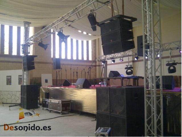 SONIDO PARA EVENTOS, HOTELES
