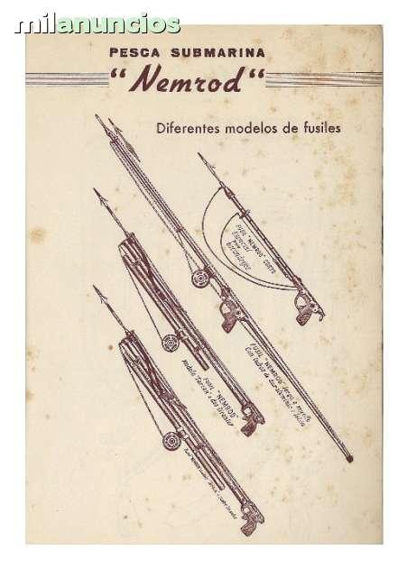 Busco Antiguos Fusiles De Pesca Y Linter