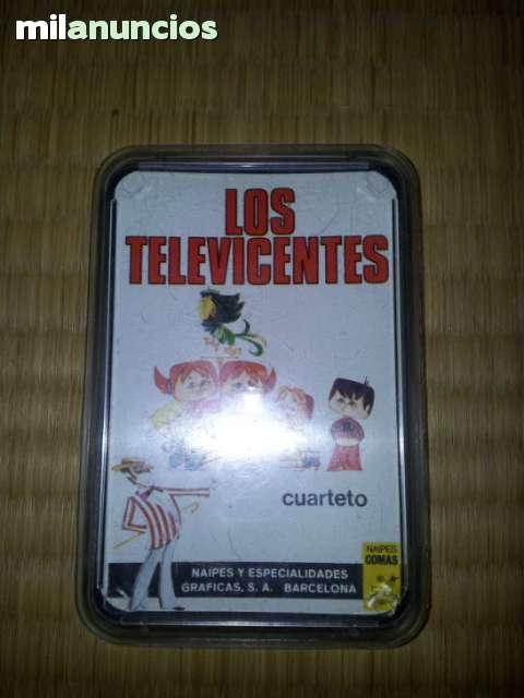JUEGO DE CARTAS INFANTILES LOS TELEVICEN