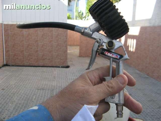 Pistola Aire Con Manometro Rybox