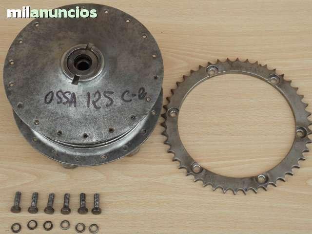 OSSA 125 C 2 - BUJE TRASERO Y CORONA