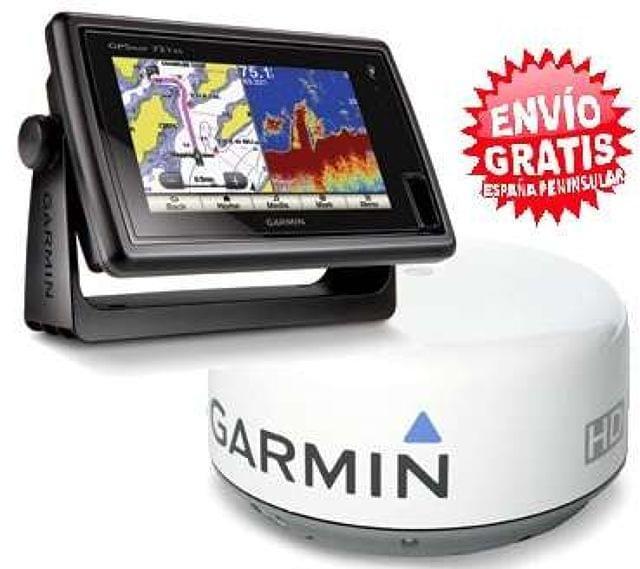PACK GARMIN GPSMAP722XS+RADAR GMR-18H - foto 1