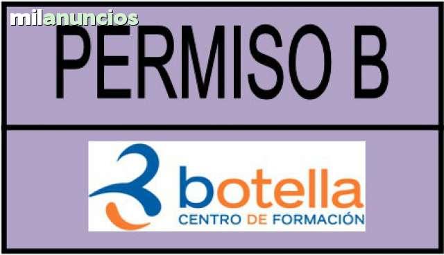 PERMISO B COCHE.  OFERTA ESPECIAL 2020 - foto 1