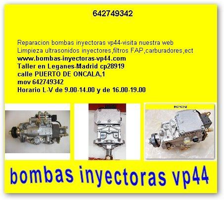 BOMBA INYECTORA BOSCH VP44