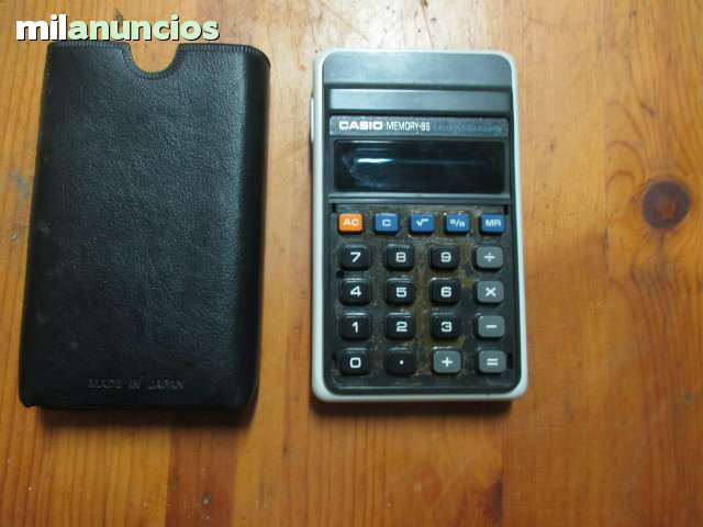 Calculadora Casio Antigua